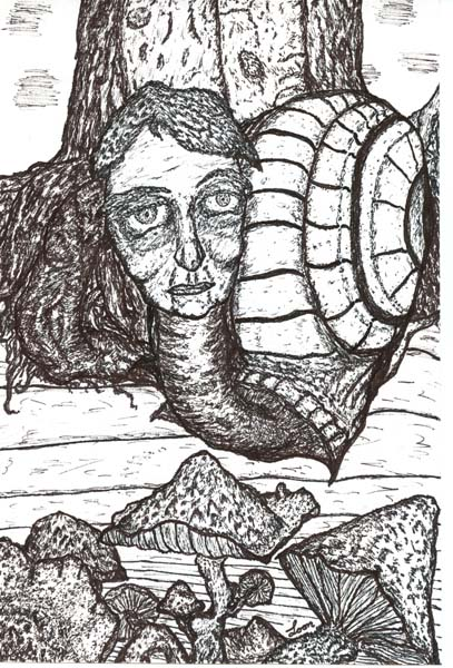 Psychedelic Snail, art by Brian Looney