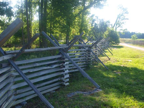 Split Rail Fence, art by David Michael Jackson
