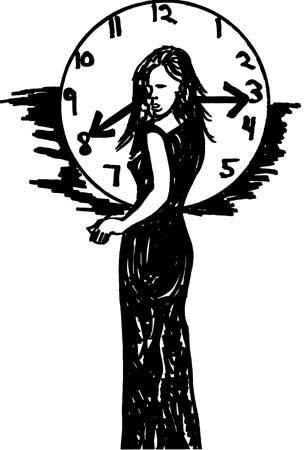 Time, art by Edward Michael O'Durr Supranowicz