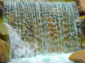 Waterfall,  art from John Yotko