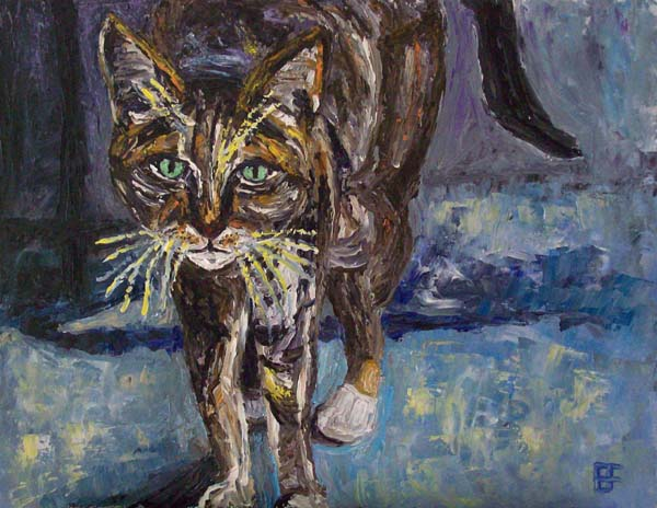 Street Cat, art by Brian Forrest