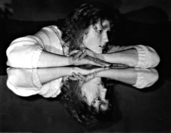 Ellen mirror image copyright 1988-2017 Janet Kuypers
