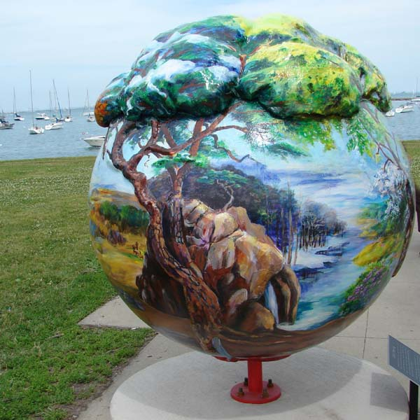 cool globes 451, Chicago