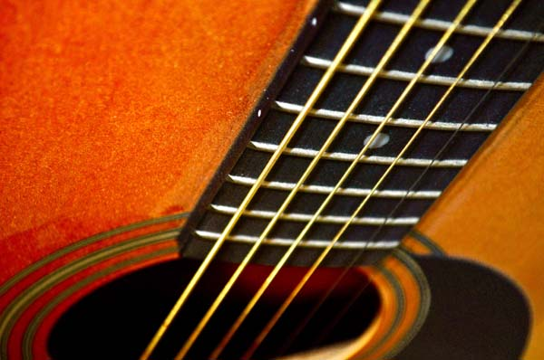 Acoustic, photography by Peter LaBerge