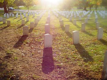 Arlington Cemetery image copyright 2003-2016 Janet Kuypers