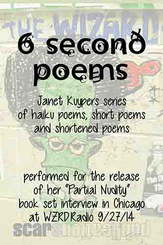 the 9/27/12 6 Second Poems chapbook