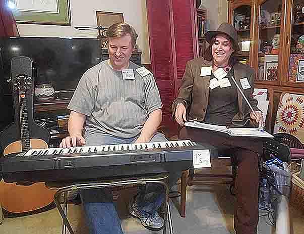 Janet & John in show, photo by Thom Woodruff