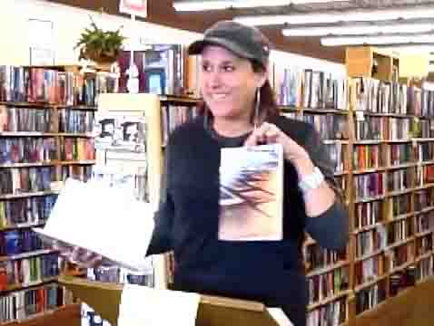 video still from book readings