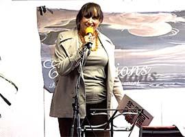 Janet reading poem show
