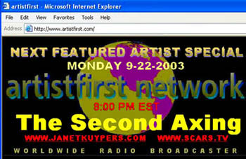 The Second Axing on the radio 09/22/03