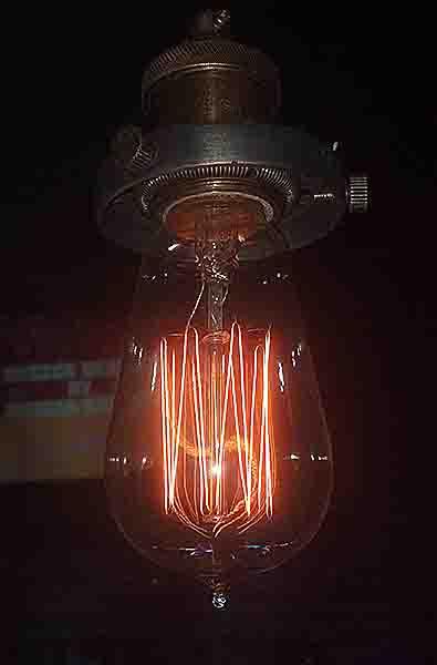 light bulb. photographed 201030324 by John Yotko