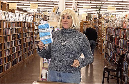 "Janet with the book ""Twitterati"" at Half Price Books 11/1/17"