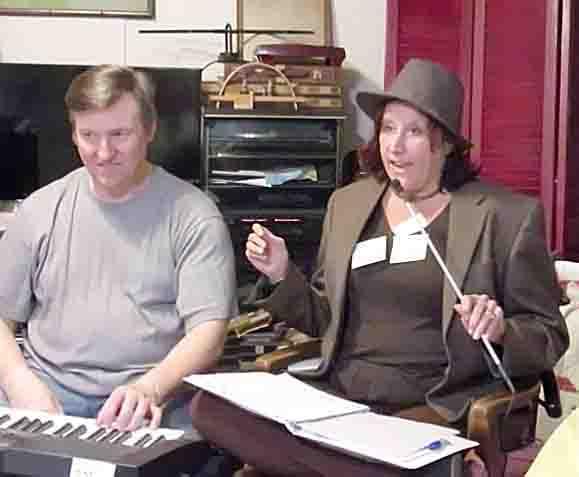 Janet & John in show, Canon video still