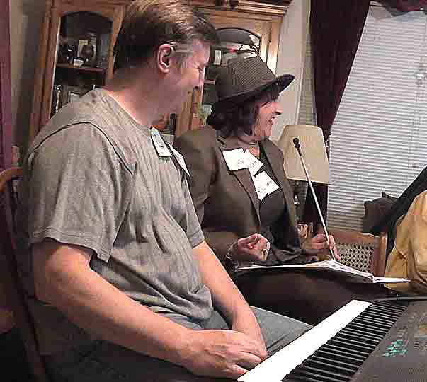 Janet & John in show, photo by Birdman 313